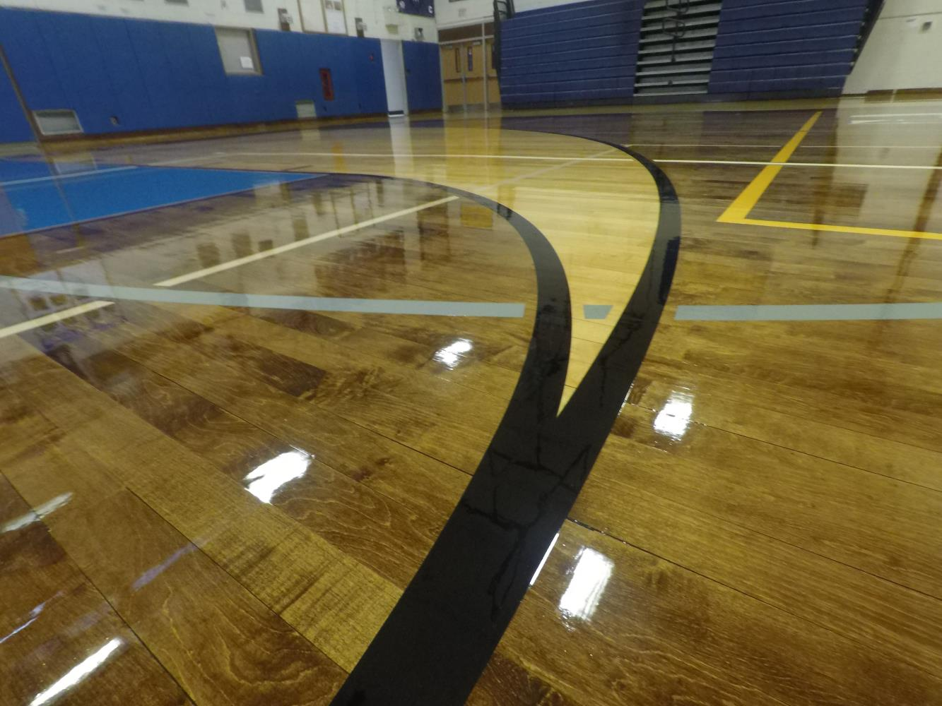 Centereach High School Gym Closeup