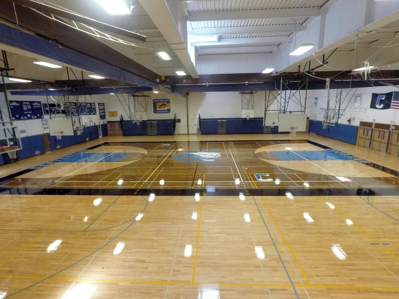 Centereach High School Gym Wide Angle