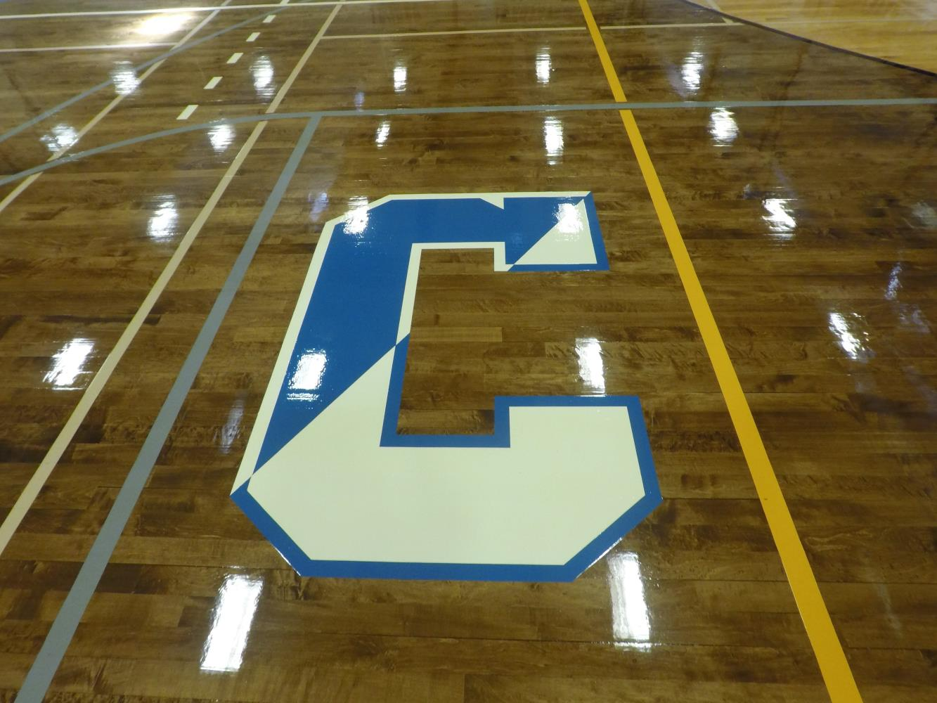 Centereach High School Gym Letter