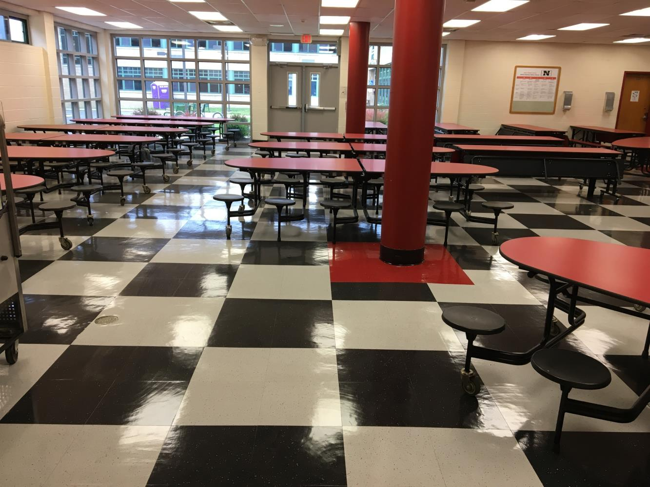 Nyack Middle School Cafeteria