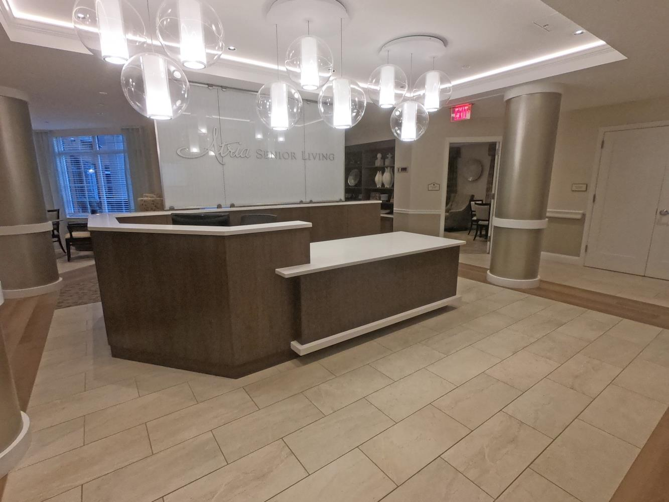 Atria, Reception Desk